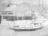'Jukung Boat, Lembongan', ink & wash 2010